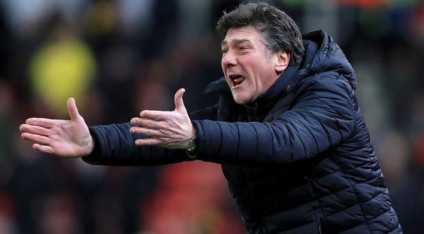 Walter Mazzarri's Watford are 12 points above the relegation zone with six games remaining