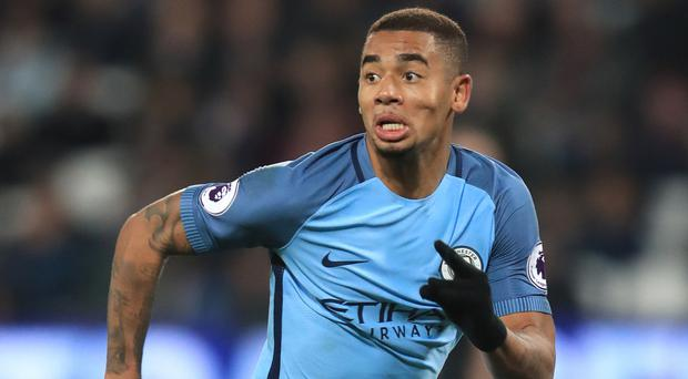 Gabriel Jesus is back in contention for Manchester City