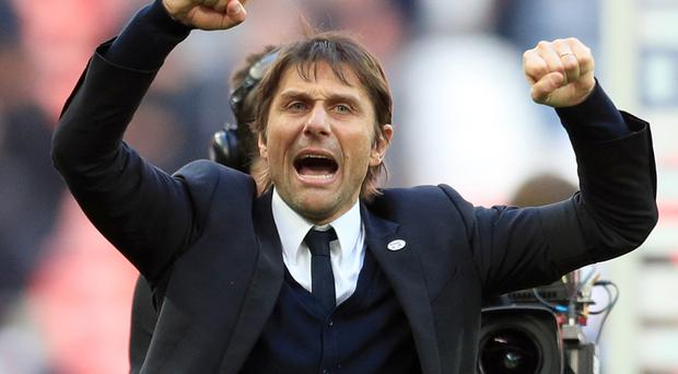 Antonio Conte has led Chelsea to the top of the Premier League and the FA Cup final