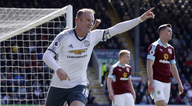 Wayne Rooney scored on his return to the Manchester United line-up