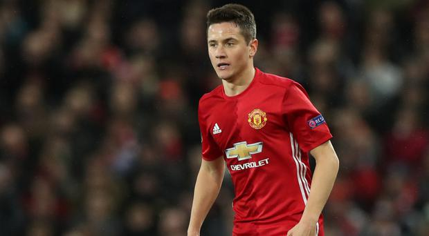 Manchester United midfielder Ander Herrera named the club's Player of the Year