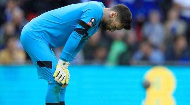 Hugo Lloris' Tottenham lost 4-2 to Chelsea on Saturday