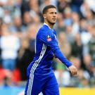 Eden Hazard made a decisive impact as a substitute as Chelsea beat Tottenham