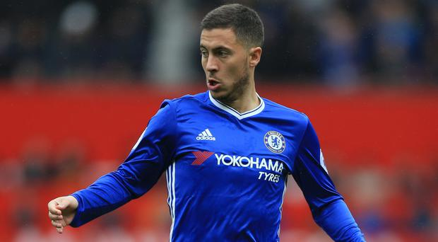 Eden Hazard could win the double with Chelsea this season