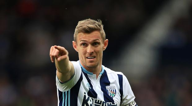 West Brom captain Darren Fletcher joined in 2015 from Manchester United.