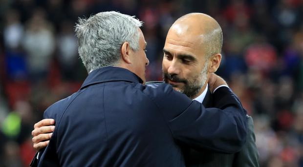 The rivalry between the managers is an interesting subplot to the Manchester derby