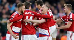 Marten de Roon scored the only goal as Middlesbrough beat Sunderland