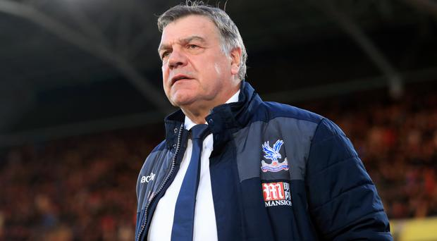 Crystal Palace manager Sam Allardyce wants his players to secure their Premier League safety with a win against Burnley