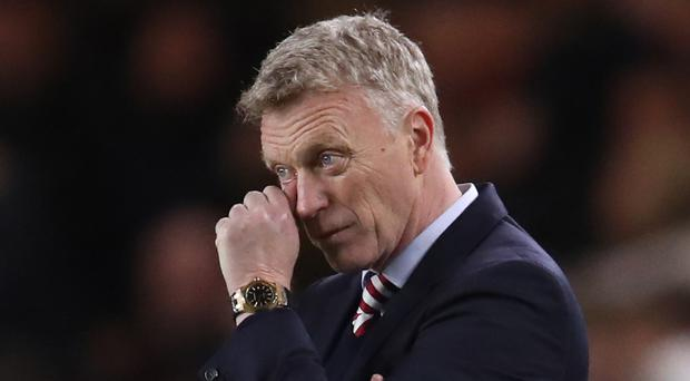 David Moyes' misery could deepen this weekend, with relegation a possibility for Sunderland