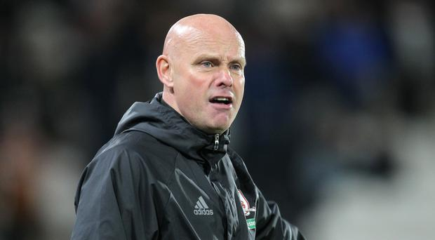 Steve Agnew, pictured, is looking forward to testing his team against a Pep Guardiola side
