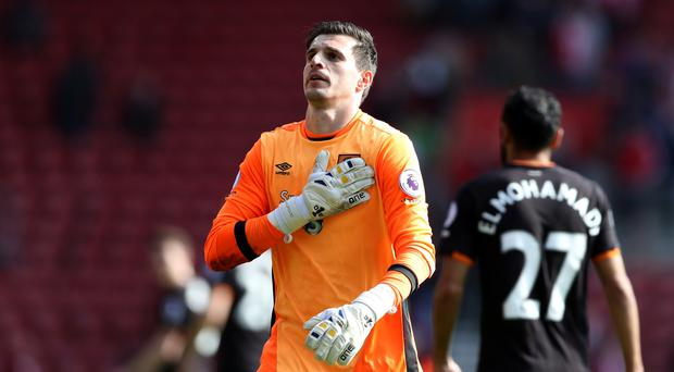 Eldin Jakupovic's save earned Hull a point