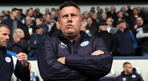 Craig Shakespeare will not discuss survival until it is mathematically secure