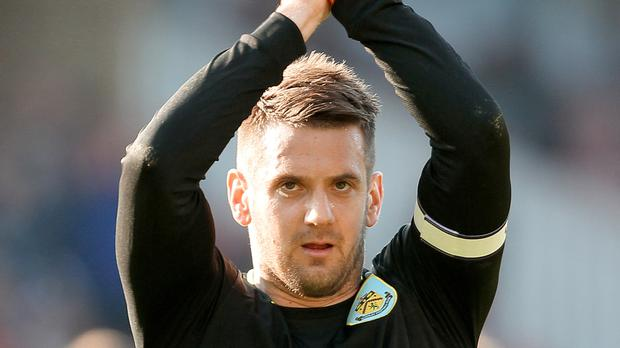 Burnley goalkeeper Tom Heaton was the star man against Crystal Palace