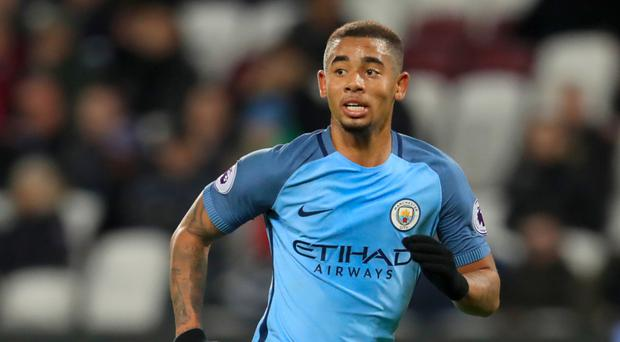 Manchester City's Gabriel Jesus is now back in action after injury
