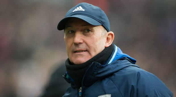 Tony Pulis is looking for some luck