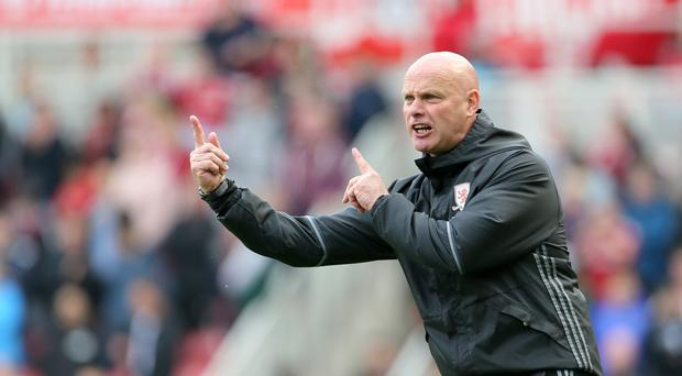 Steve Agnew was not happy with the award of a controversial penalty at the Riverside