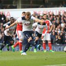 Harry Kane scored from the penalty spot in Tottenham's victory