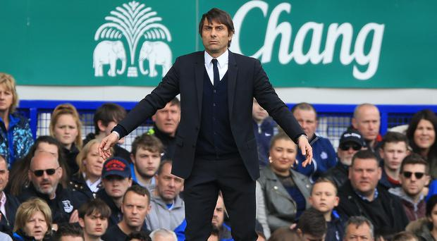 Chelsea manager Antonio Conte is keeping cool as his side edge closer to the title