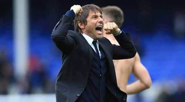 Chelsea manager Antonio Conte hailed team spirit as being a key component in their run towards the title