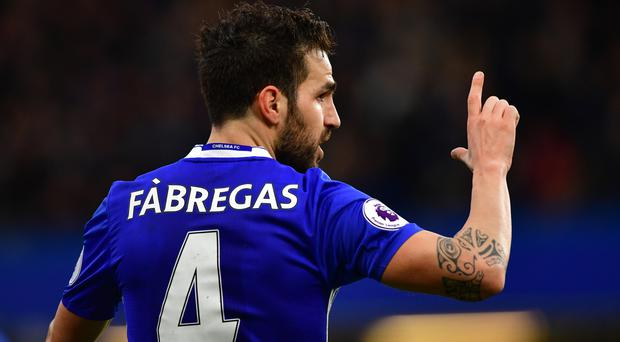 Chelsea's Cesc Fabregas is wanted by Liverpool and Manchester United, according to reports