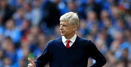 Arsene Wenger's Arsenal currently sit sixth in the Premier League