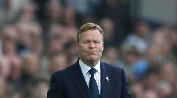 Everton manager Ronald Koeman has ambitions to coach former club Barcelona