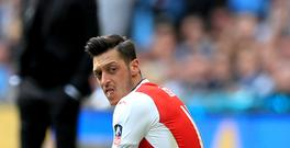 Mesut Ozil's Arsenal contract expires next year.