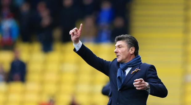 Watford manager Walter Mazzarri believes the club can move forwards with him again at the helm next season