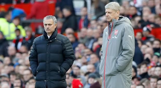 Jose Mourninho names strong side for Arsenal clash