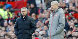 Jose Mourinho says there are no issues between him and Arsene Wenger