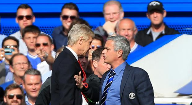 Jose Mourinho and Arsene Wenger have clashed several times in the past.