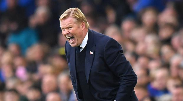 Everton manager Ronald Koeman has no intention of allowing his players to coast through the last three matches of the season.