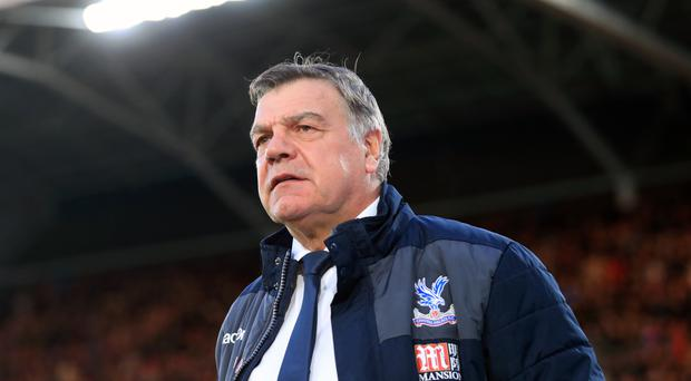Sam Allardyce is reluctant to talk transfers until Crystal Palace's Premier League status has been preserved