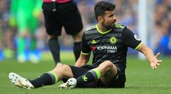 Diego Costa has repeatedly been linked with a move to China