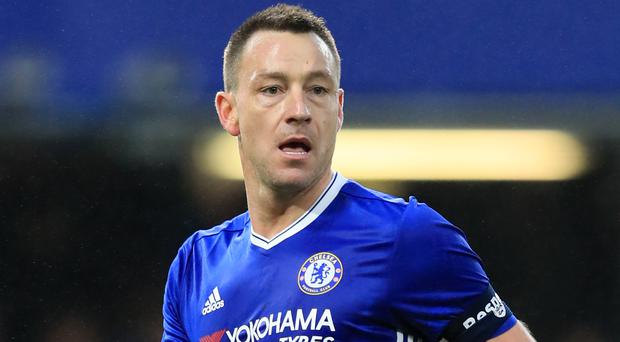 Mark Hughes had a conversation with John Terry, pictured, about his future in late December