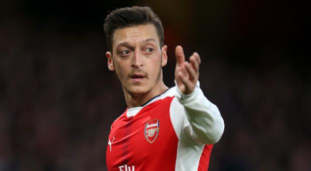 Mesut Ozil has come under fire for Arsenal this season