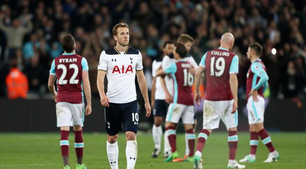 Tottenham's title hopes all but disappeared at the London Stadium