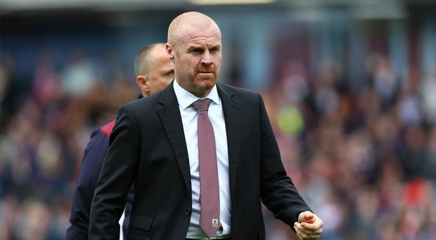 Sean Dyche's Burnley edged closer to safety