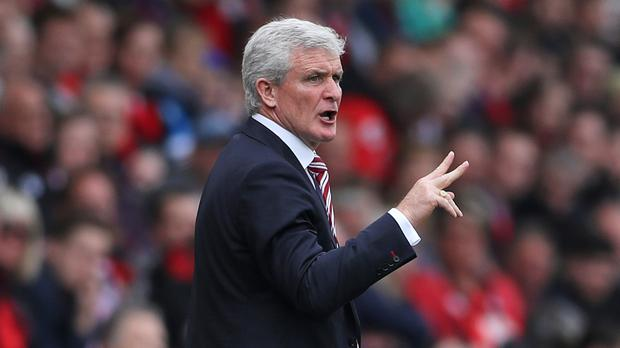 Mark Hughes felt Bournemouth escaped a couple of red cards
