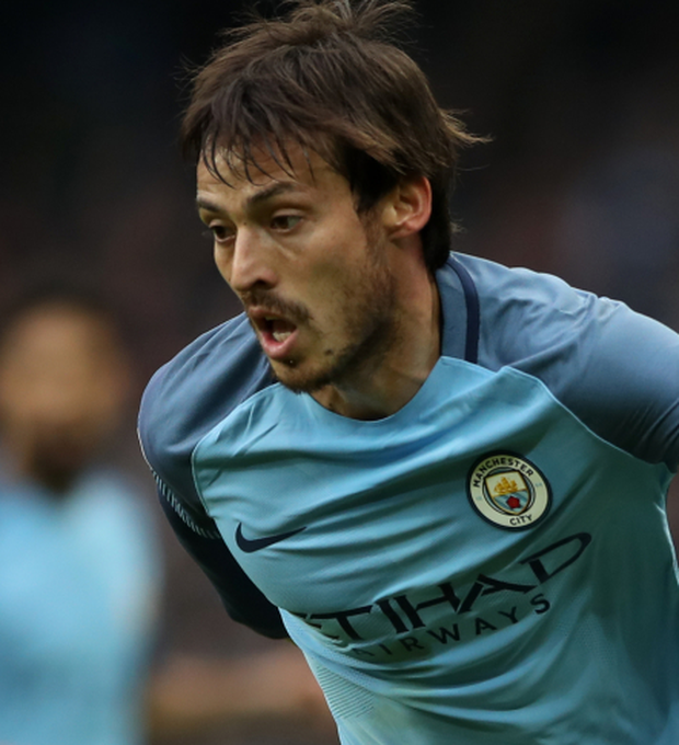 David Silva scored after only 114 seconds. Photo: PA Wire