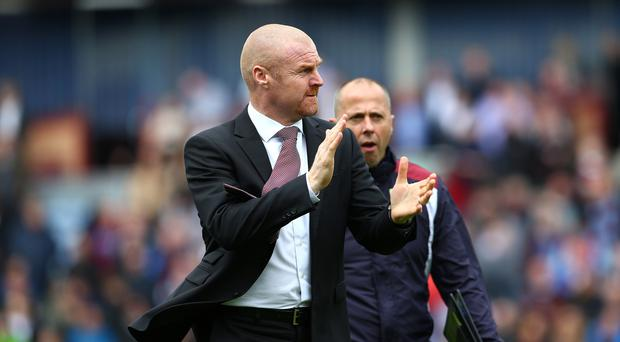 Sean Dyche's Burnley reached the fabled 40-point mark on Saturday
