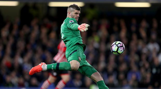 Fraser Forster came to Southampton's rescue at Anfield