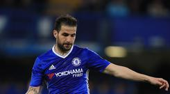 Cesc Fabregas impressed for Chelsea