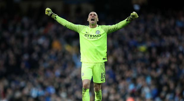 Willy Caballero wants to stay at Manchester City