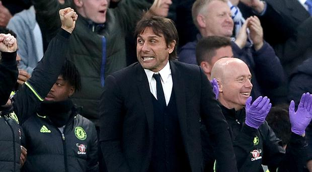 Antonio Conte's Chelsea need one victory from their final three fixtures to secure the Premier League title
