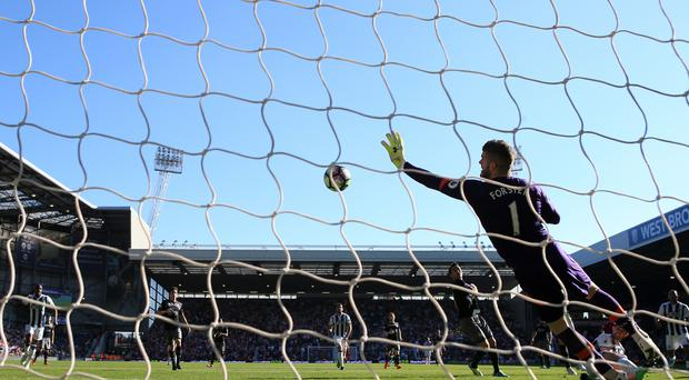 Fraser Forster has rediscovered his best form for Southampton
