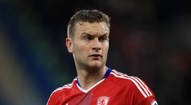Middlesbrough defender Ben Gibson, pictured, was left devastated by relegation from the Premier League