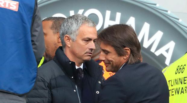 Jose Mourinho, left, and Antonio Conte have led great Chelsea teams