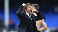 Antonio Conte and his Chelsea team could be celebrating winning the Premier League title on Friday night