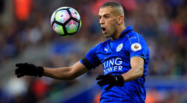 Islam Slimani has scored eight times since his big money move to Leicester